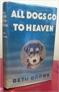 All dogs go to heaven bookcover