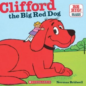 Clifford the big red dog book cover