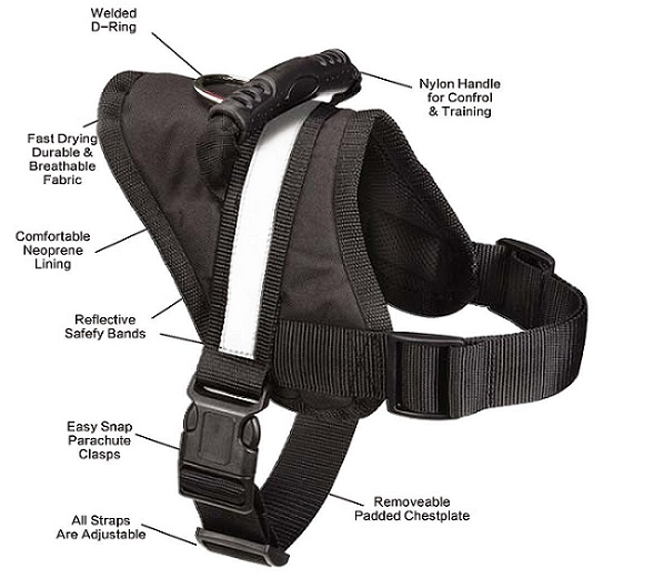 expawlorer harness for large dogs