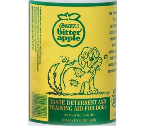 chewing deterrent spray for dogs
