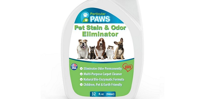 a pet stain and odor remover