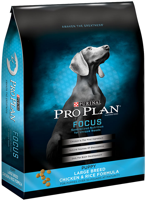 purina pro plan focus dog food for large breed puppy
