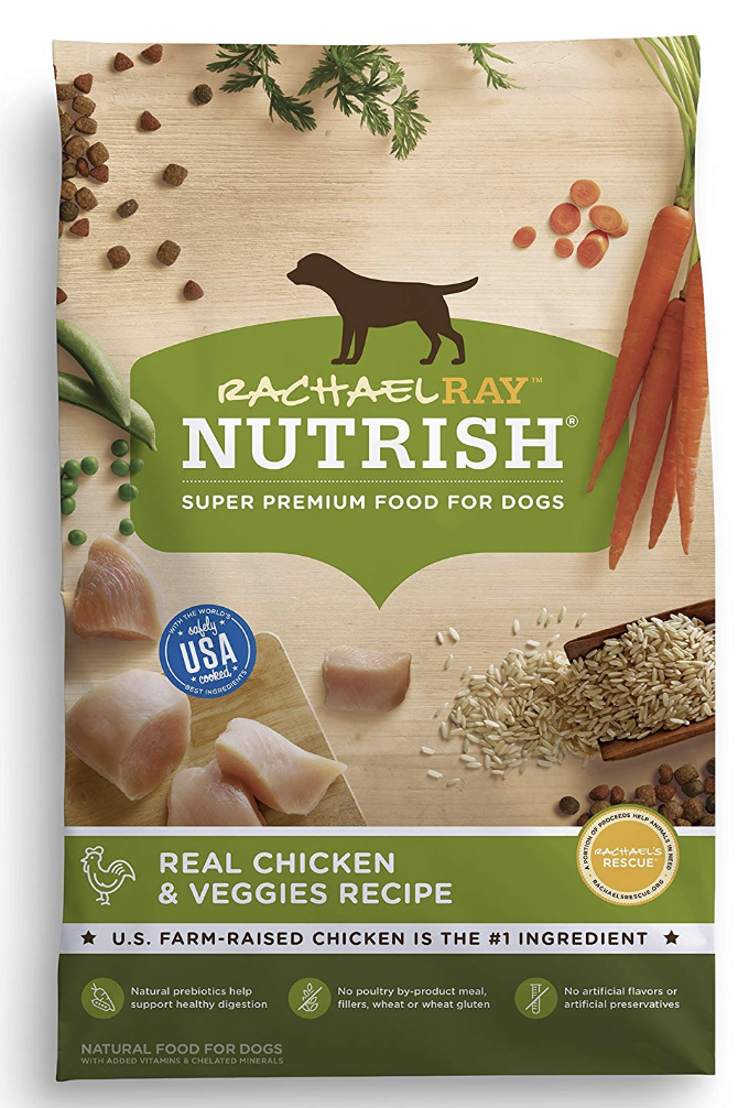 rachael ray dog food- Rachael Ray Nutrish Natural Dry Dog Food, Real Chicken & Veggies Recipe