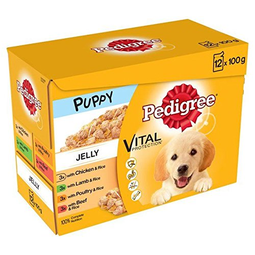 Pedigree Puppy Pouches Meat pedigree puppy food review